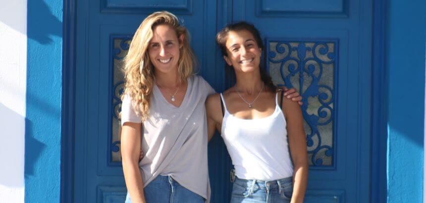Ana Adão und Teresa Almeida von der Zulla Surf Lodge Portugal in Nazaré