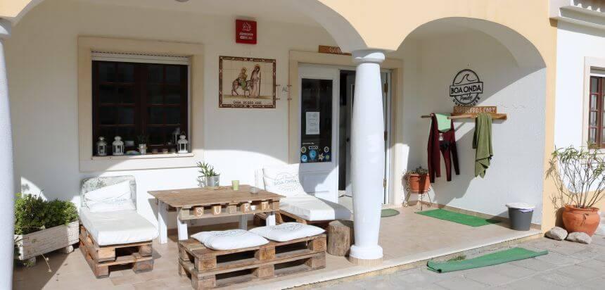 Boa Onda Guest House in Consolação ist ein typisches Surf Hostel