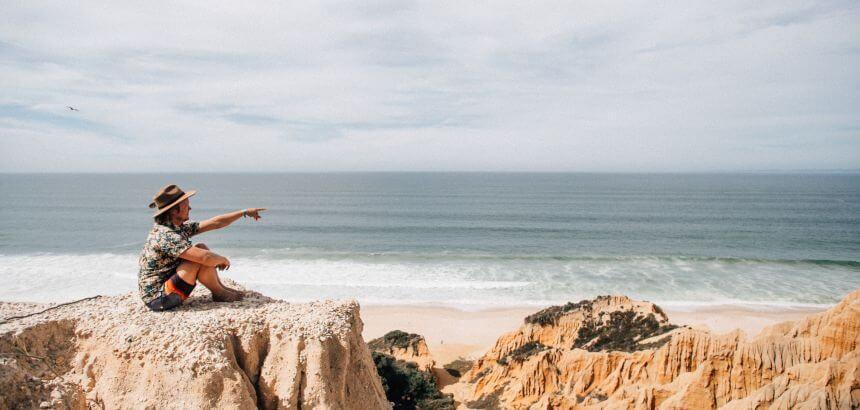 Der Surfnomade auf Recherche-Tour in Portugal