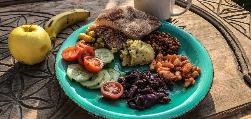 Gesunde abwechslungsreiche Ernährung wird im Nice Base in Marokko großgeschrieben!