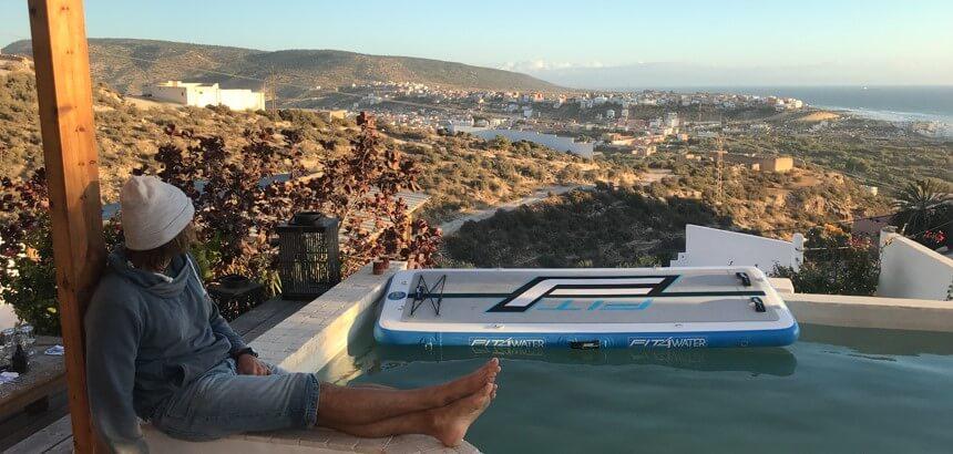 In der Nice Base gibt es viele schöne Ecken zum Entspannen und Genießen_Surfcamp Taghazout