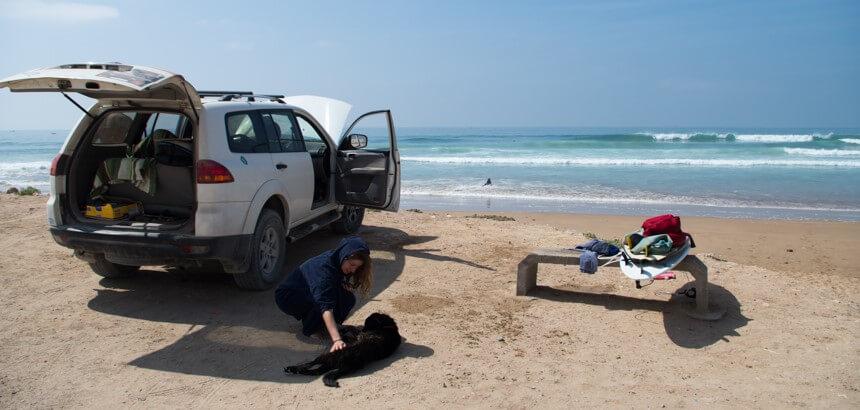 Roadtrip-Feeling beim Surfguiding_In Marokko surfen