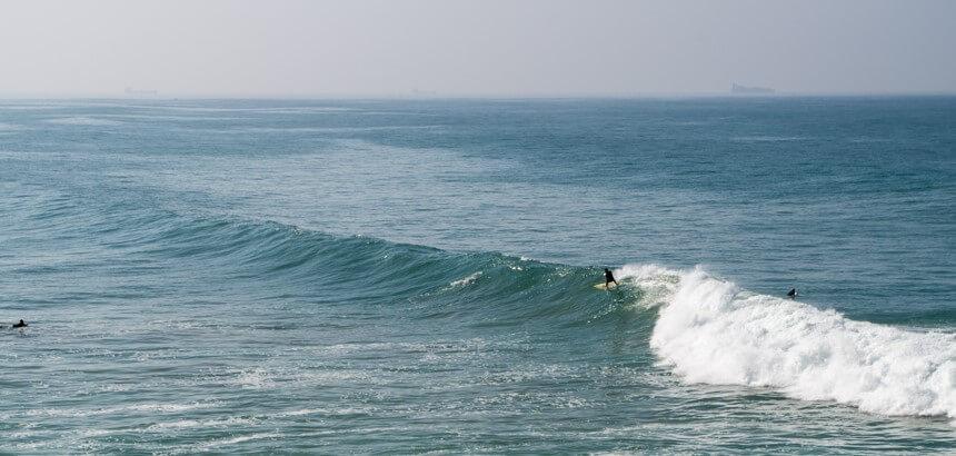 Surfen in Marokko_An großen Tagen kommen am Banana Point auch fortgeschrittene Surfer auf ihre Kosten
