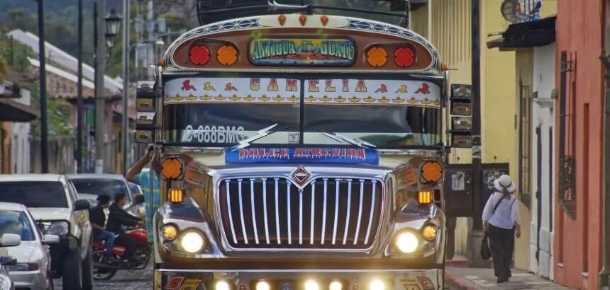 Guatemala Transport und Mobilität