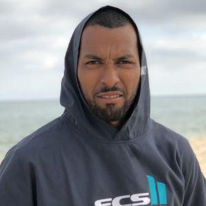 FCS Surf Poncho Test