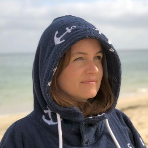 Atlantic Shore Surf Poncho