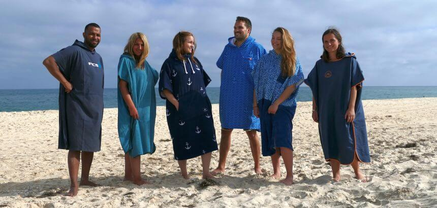 Surf Poncho Review bei Surfnomade