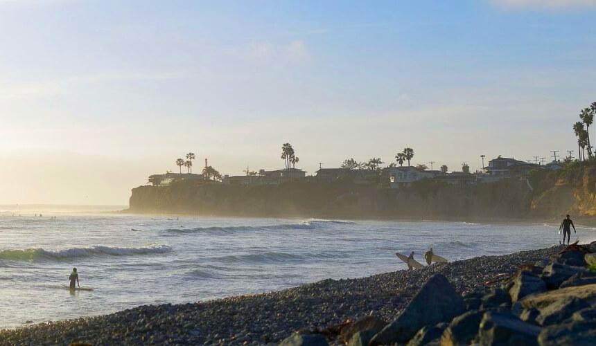 Der Pacific Beach bedient nahezu jedes kalifornische Klischee