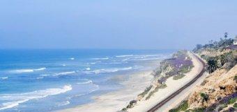 In Kalifornien surfen - der Pacific Surfliner
