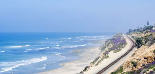In Kalifornien surfen - der Pacific Surfliner