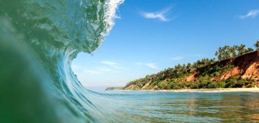 Surfen in Indien