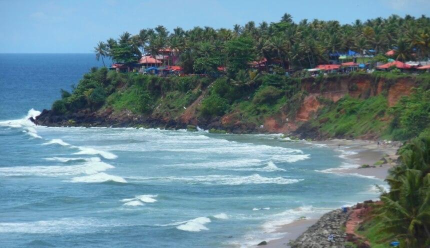 Surfen lernen in Indien