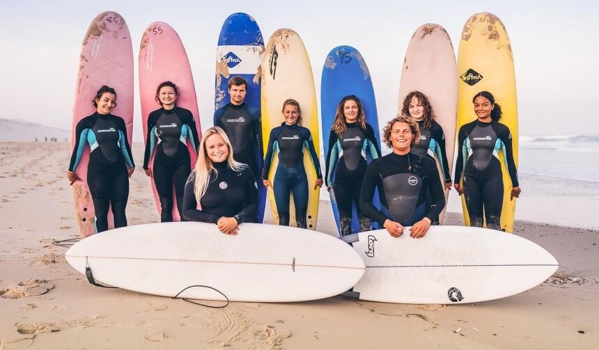 Unsere Surf Crew im Juli 2019