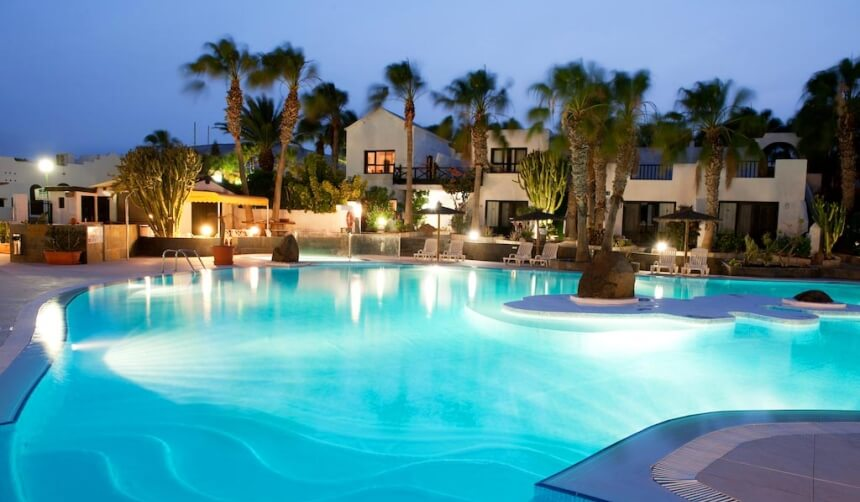 Apartments und Studios mit Pool in Costa Calma