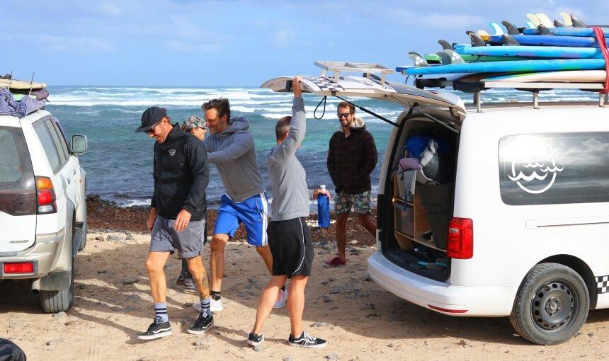 Mit dem Surf Institute Fuerteventura an der North Shore