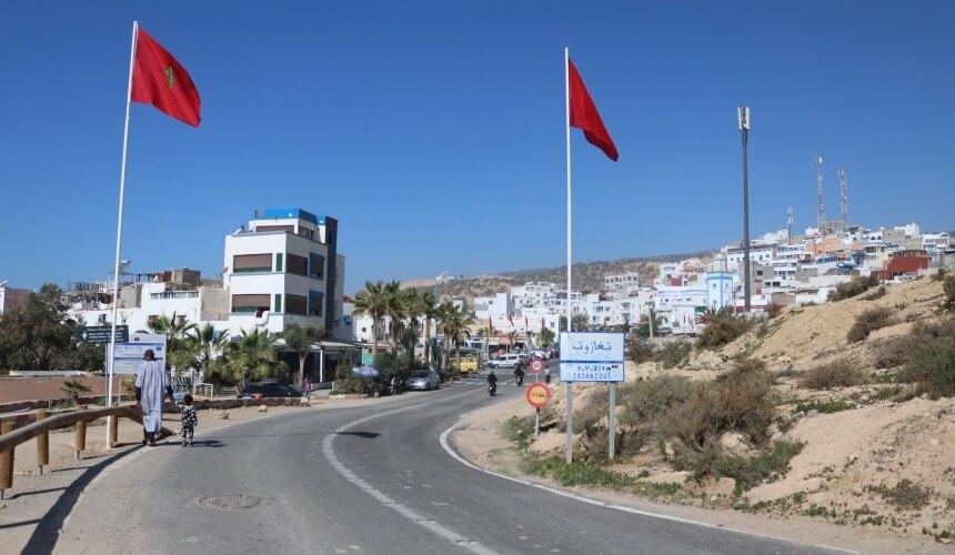 Das Surf Mekka Taghazout in der Nähe von Agadir