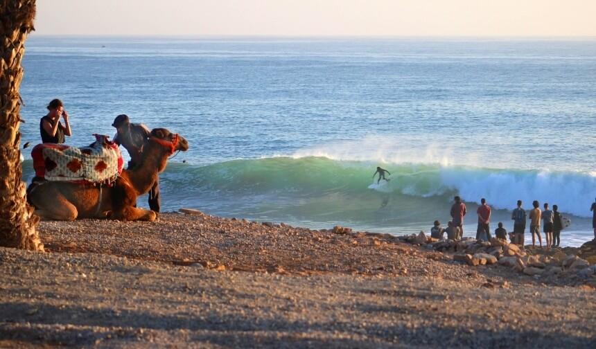 Wer in Marokko surfen will sollte einen Stop am Anchor Point einlegen