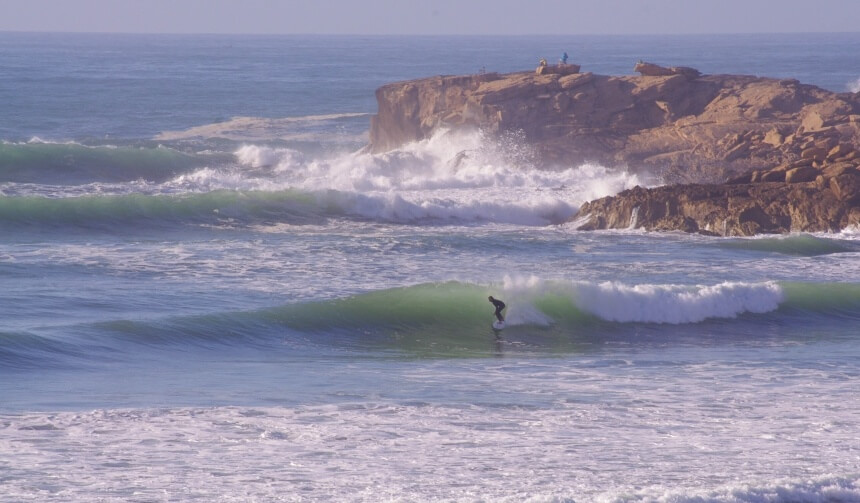 Surfspot Cathedral in Imsouane_Marokko Surfcamp