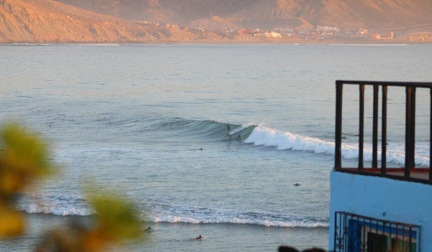 Surfspot The Bay in Imsouane, Marokko