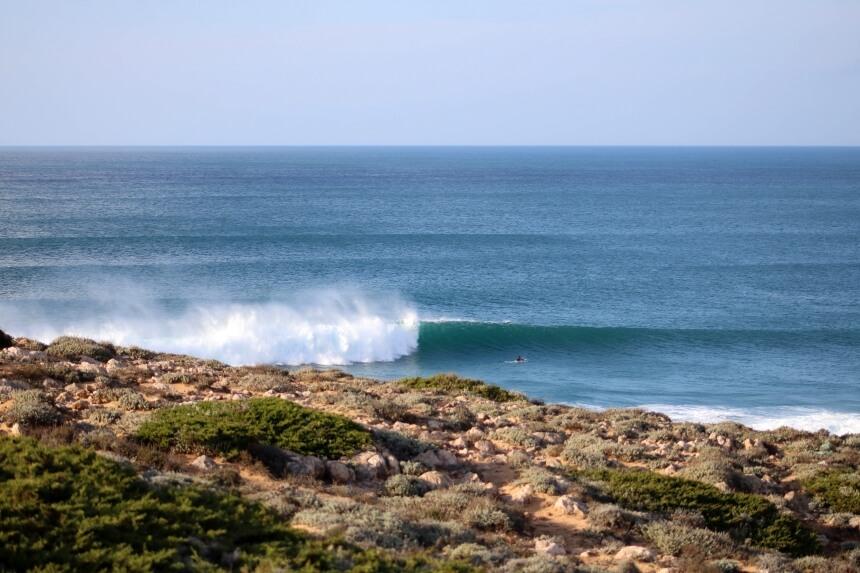 Neuer Swell in der Algarve
