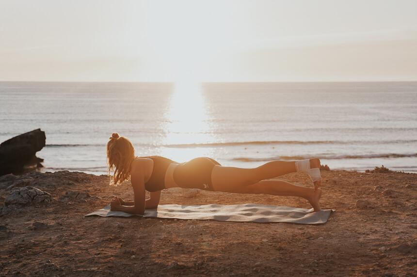 Surf Fittness kannst du auch mit Verletzung trainieren