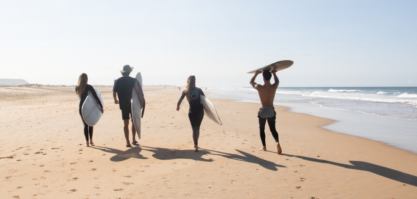 El Palmar surfen