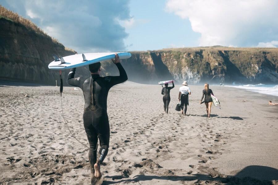Surfkurse im Salt Lips Surfcamp in kleinen Gruppen
